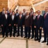 Anadolu Yakası Belediye Başkanları, Başbakan Yıldırım ve Bakanlarla Görüştü