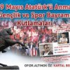 KARTAL BELEDİYESİ'NDEN 19 MAYIS'TA GENÇLER İÇİN MUHTEŞEM ŞÖLEN