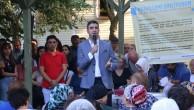 Başkan Gökhan Yüksel, 'Mahallemi Dinliyorum' buluşmaları kapsamında vatandaşlarla bir araya geldi