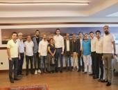 CHP'li ilçe başkanlarından Başkan Gökhan Yüksel'e tebrik ziyareti