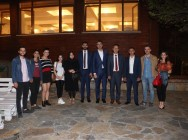 Başkan Gökhan Yüksel, İYİ Parti Kartal İlçe Başkanlığı'nın düzenlediği yemeğe katıldı
