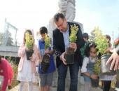 Minik Eller Toprakla Buluştu, Kartal'ın Park ve Meydanları Yeşillendi