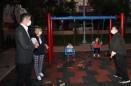 Başkan Gökhan Yüksel, Yeni Park Alanlarındaki Çalışmaları Yerinde İnceledi