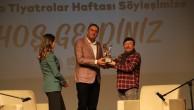 Oyuncu Erkan Can, Dünya Tiyatrolar Haftası'nda Kartal Belediyesi'nin Konuğu Oldu
