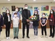 Başkan Gökhan Yüksel, 'Sanat Akademisi Resim Öğrencileri Sergisi'nin Açılışına Katıldı