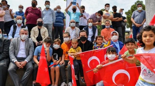 İstanbul'un Fethi Tuzla'da Mehter Takımı İle Kutlandı