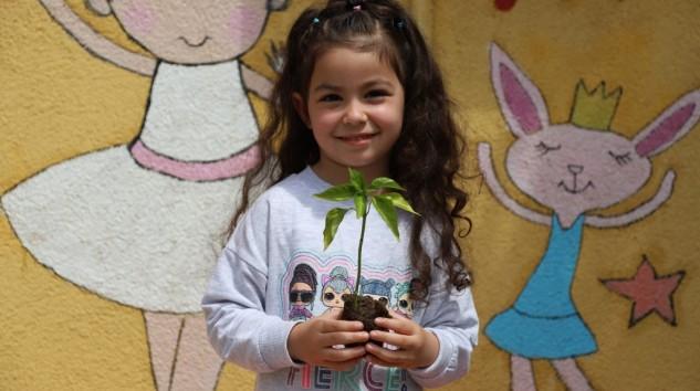 Kartallı Minikler, Yerli ve Organik Tarımın Önemini Hobi Bahçelerinde Öğreniyor