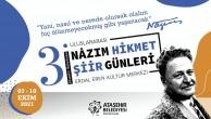 ULUSLARARASI NÂZIM HİKMET ŞİİR GÜNLERİ ATAŞEHİR'DE BAŞLIYOR!