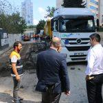 Kartal Belediye Başkanı Gökhan Yüksel asfalt çalışmalarını inceledi-1
