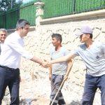 Kartal Belediye Başkanı Gökhan Yüksel asfalt çalışmalarını inceledi-3