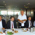 Kartal Belediyesi Yöneticileri, Kartal Gazeteciler Derneği Üyeleri ile Buluştu (1)