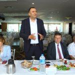Kartal Belediyesi Yöneticileri, Kartal Gazeteciler Derneği Üyeleri ile Buluştu (2)