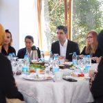 Başkan Gökhan Yüksel, Okul Aile Birliği Başkanlarıyla Bir Araya Geldi (2)