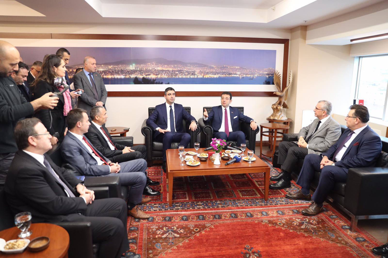 İBB Başkanı Ekrem İmamoğlu, Ortak Masa Toplantısı İçin Kartal'da (4)