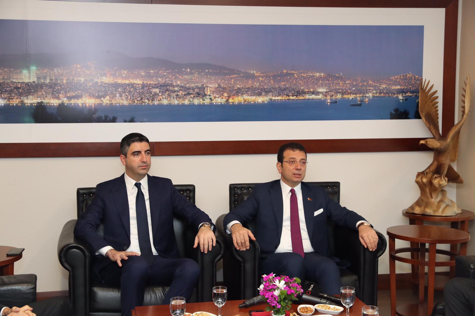 İBB Başkanı Ekrem İmamoğlu, Ortak Masa Toplantısı İçin Kartal'da (8)