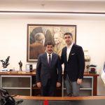 Erzincan Belediye Başkanı Bekir Aksun'dan Başkan Gökhan Yüksel'e Ziyaret (2)