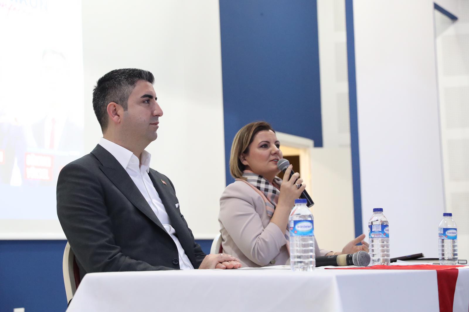 Başkan Gökhan Yüksel, Başarmak Mümkün Konferansında Konuştu (5)