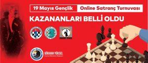 19 Mayıs Online Satranç Turnuvası_nın Kazananları Belli Oldu