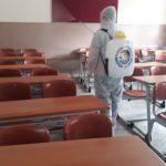 Kartal Belediyesi'nden YKS Öncesi Okullarda İlaçlama (2)
