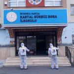 Kartal Belediyesi'nden YKS Öncesi Okullarda İlaçlama (5)