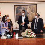 İYİ Parti'den Başkan Gökhan Yüksel'e Ziyaret (1)