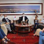 İYİ Parti'den Başkan Gökhan Yüksel'e Ziyaret (2)