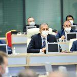 Başkan Gökhan Yüksel, İl Filyasyon Çalışmaları Takip Kurulu Toplantısına Katıldı (4)