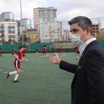 Başkan Gökhan Yüksel'den Kartalspor tesislerini ziyaret (3)