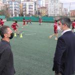 Başkan Gökhan Yüksel'den Kartalspor tesislerini ziyaret (5)