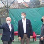 Başkan Gökhan Yüksel'den Kartalspor tesislerini ziyaret (7)
