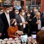 İBB Başkanı İmamoğlu ve Başkan Yüksel, Hızır Orucu_nu Kartal Cemevi_nde Açtı (2)