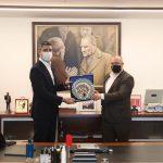 Ardino Belediye Başkanı İzzet Şaban'dan Başkan Gökhan Yüksel'e Ziyaret (1)