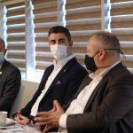 Ardino Belediye Başkanı İzzet Şaban'dan Başkan Gökhan Yüksel'e Ziyaret (5)