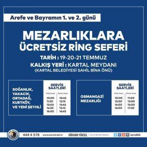 KARTALLI VATANDAŞLARA BAYRAMDA MEZARLIK ZİYARETİ HİZMETİ001