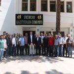 Kartal Belediye Başkanı Gökhan Yüksel'den Erzincan Basınına Ziyaret 2