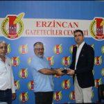 Kartal Belediye Başkanı Gökhan Yüksel'den Erzincan Basınına Ziyaret 4